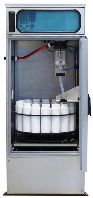 Stationärer Probenehmer mit Innenraum Ex-Zone 2 - Stationary Sampler with Ex-Zone sample storage chamber WS 316 Ex II
