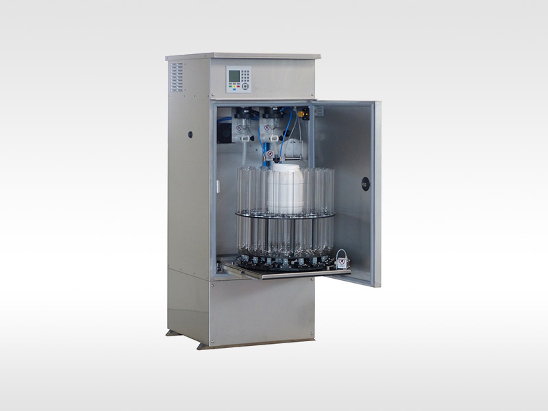 Selbstentleerender und selbstreinigender Probensammler - Self-emptying and self-cleaning Water Sampler WS 316 SE