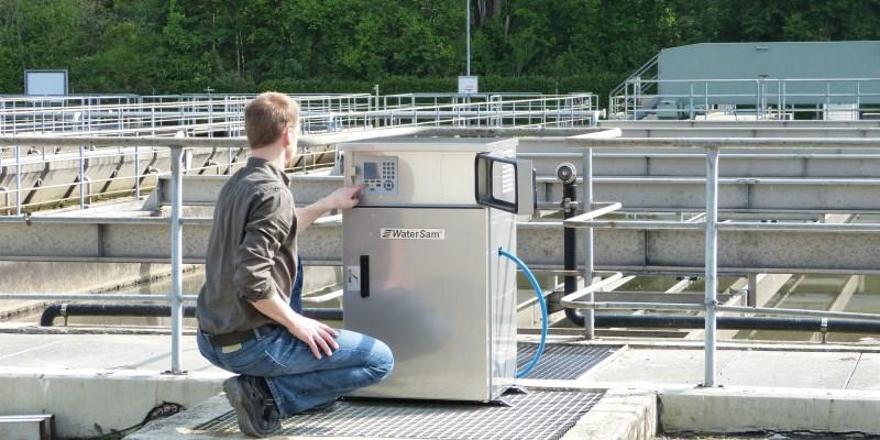 WaterSam-Probenehmer-Steuerung - WaterSam sampler controller