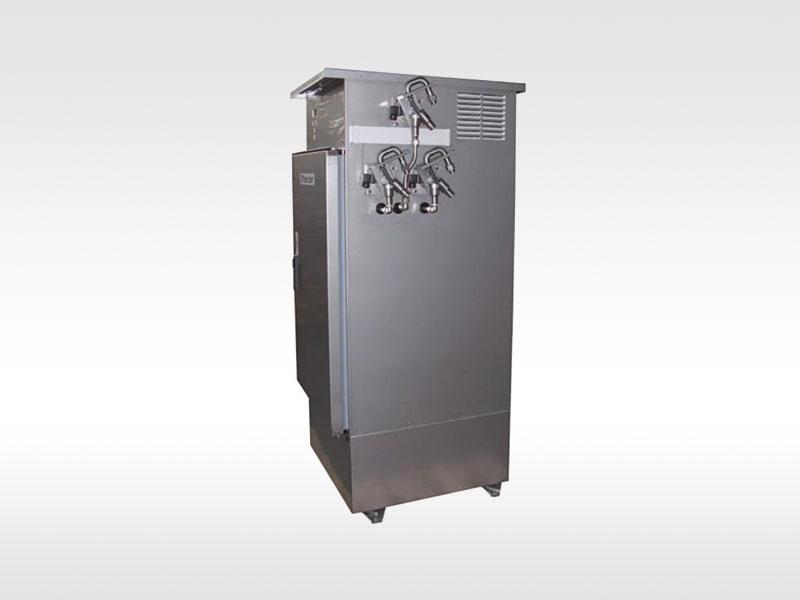 Probenehmer mit 3 Wasserweichen - Sampler with 3 water switches