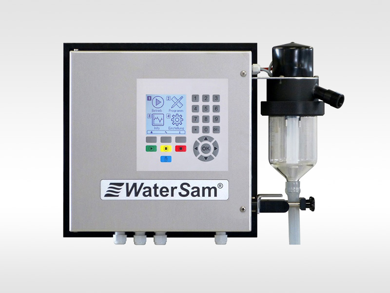 Wandmontierter Probenehmer - Wall Mounted Automatic Water Sampler WS 98